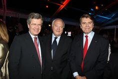WPC 2013, Monaco - Jean-David Levitte, Diplomatic Advisor and Sherpa to President Nicolas Sarkozy; Miguel Ángel Moratinos, Minister of Foreign Affairs and Cooperation of Spain; Thierry de Montbrial, President and Founder of the WPC