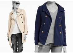 Caban vs. Trenchcoat – In jedem Fall Back to Classic - https://blog.opus-fashion.com/back-to-classic-mit-dem-trenchcoat/