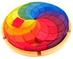 Awesome color wheel puzzle