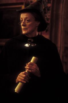 Minerva Mcgonagall from the Harry Potter series