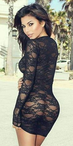 black transparent fashion