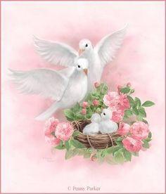tambien hicimos juntos un nido con las rosas y lo llenamos luego de un tesoro especial