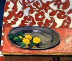 Lemons on a Pewter Plate - Henri Matisse - The Athenaeum
