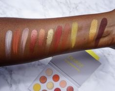 Swatched: Yes Please! Colour Pop Pressed Powder Shadow Palette