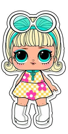 Confetti Pop Series 3 LOL Dolls are out! The series brought some exciting new additions and changes to the world of LOL Surprise… Pop Dolls, Baby Dolls, Lol Doll Cake, Doll Party, Cute Images, Big Eyes, Cute Drawings, Chibi, Hello Kitty