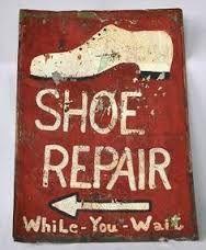 Image result for original cobblers signs