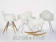 Charles & Ray Eames стул с подлокотниками Vitra Eames, Eames Plastic Armchair