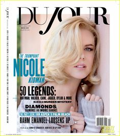 Nicole Kidman Covers DuJour Magazine Winter 2012