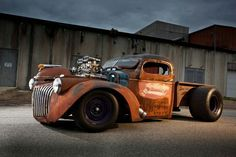 earthman's actual ratrod foto thread - Page 111 - Undead Sleds / Rat Rods Rule - Hot Rods, Rat Rods, Sleepers, Beaters & Bikes. Rat Rod Trucks, Cool Trucks, Chevy Trucks, Pickup Trucks, Truck Drivers, Chevy Pickups, Lowered Trucks, Dually Trucks, Big Trucks