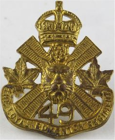 Loyal Edmonton Regiment - Canadian Army Other Ranks' collar badge for sale Canadian Army, Kings Crown, Commonwealth, Armed Forces, Windsor, Badges, Ontario, Warriors, Cool Pictures