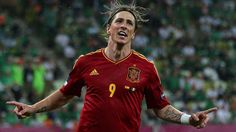 Spain Crushed Ireland, 4-0 in Euro 2012