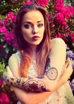 Tattoos on top