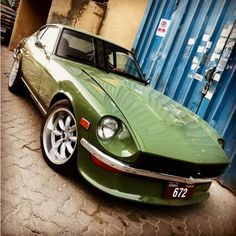 Classic Car News Pics And Videos From Around The World 240z Datsun, Datsun Car, Tuner Cars, Jdm Cars, Nissan Z Cars, Vintage Mustang, Import Cars, Japanese Cars, Nissan Skyline