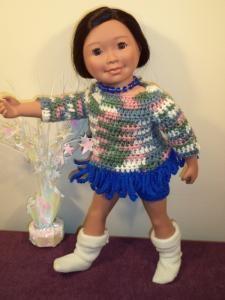 "Midori - 18"" doll - Free Original Patterns - Crochetville"