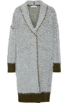 ELIZABETH AND JAMES Bouclé coat. #elizabethandjames #cloth #coat