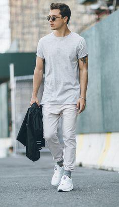 Macho Moda - Blog de Moda Masculina: Looks Masculinos Monocromáticos e…