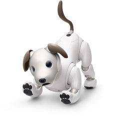 New robot dog Aibo. AIBO is back. After more than ten years, Sony has decided to give a new life to his iconic robot dog. The aim is that the robot dog can form an emotional bond with members of the family and offer them love, affection and pleasure.