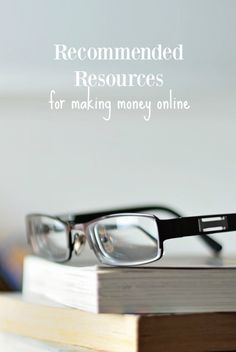 Want to make money online? If so, I created a Resources page that lists tons of sources and tools to start making money online! Check it out!