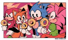 Sonic ice cream having a ring ice cream Sonic The Hedgehog, Shadow The Hedgehog, Amy Rose, Sonic Fan Characters, Nintendo Characters, Z Toon, Classic Sonic, Sonic Mania, Sonic Franchise
