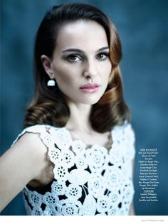 Actress Natalie Portman gets her closeup in the January 30, 2015, issue of Elle France for a feature where she models all looks from Dior. Photographed by Mathieu Cesar, the star wears a retro-inspired hairstyle and makeup in the studio portraits. Natalie has fronted a number of campaigns for the French fashion houseincluding the Miss Dior fragrance ...