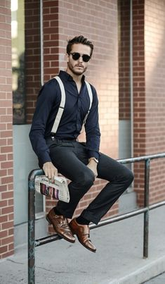 22 Elegant Men Outfits With Monk Strap Shoes