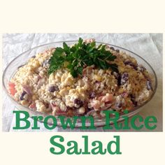 Brown Rice Salad (Thermomix Method Included) « Mother Hubbard's Cupboard
