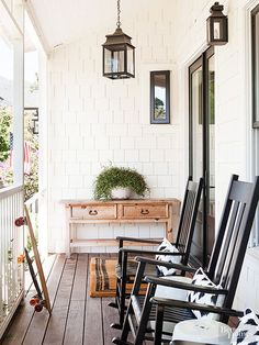 Add a Porch Front porches are back in business, especially if there's room for a bench or a chair to welcome guests to the front of the home. Be sure to check building codes for setback requirements. Also, if you plan to entertain there, make sure your porch has at least 12x24 feet of space./