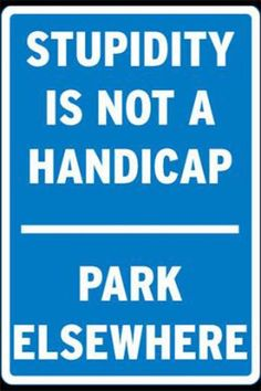 Imposing No Parking Signs  – 8 pics