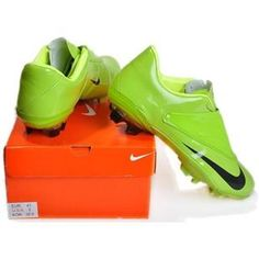http://www.asneakers4u.com Buy cheap Nike Soccer Football Mercurial Vapor V FG Green Black Cleatsout of stock