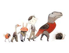 Garçon et créatures