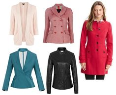 jackets and coats for apple shape