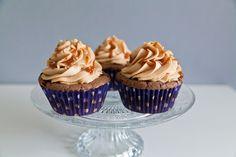 Erdnuss-Karamel-Cupcakes
