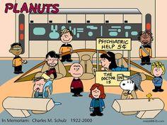 Peanuts & Star Trek
