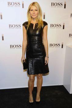 Gwyneth Paltrow en la presentación del perfume Boss Nuit en Madrid.