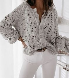Outfits 89969 Spring is Coming. We knit spring patterns. Ideas and descriptions. Knitting Patterns Free, Hand Knitting, Pulls, Knit Cardigan, Knit Crochet, Knitted Baby, Knitwear, Sweaters, Pullover