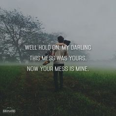Vance Joy - 'Mess Is Mine' Honestly one of my all time favourite songs its really beautiful. I could probably listen to it over and over <3