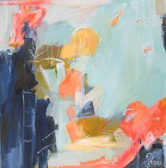 """Dunbar's House by Eileen Power Acrylic ~ 40"""" x 40"""""""