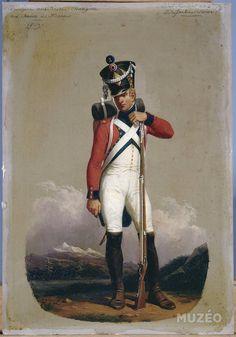 Muzéo, Edition d'art et de photo | Soldat fusilier du 2e régiment d'infanterie suisse, 1809 de Lecomte Hippolyte © RMN /image musée de l'Armée