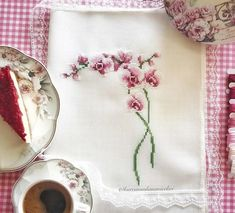 Cross Stitch Rose, Cross Stitch Embroidery, Needlework, Knitting, Crochet, Creative, Flowers, Log Projects, Brick Walls