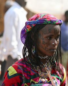 Fulani looking her best for the market   Flickr - Photo Sharing! Photo by Carsten ten Brink, 2011. Kanua, Cameroon