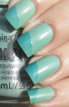 Duplicity by China Glaze (changes colour with top coat)