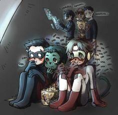 Me: AHHHH! those three are priceless!! Tim: Gracie! don't embarrass me…