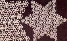 PDF Genuine Vintage Antique Pretty Lacy 'Star Doily' Tatting Pattern Retro Home Decor, Home Decor Styles, Crochet Motif, Crochet Patterns, Amai, Old Magazines, Tatting Patterns, Vintage Knitting, Star Shape
