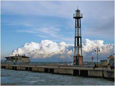 Il faro di Gabicce Mare, Marche. #faro #Adriatico #lighthouse #marAdriatico