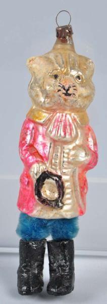 Lot # : 6 - Rare Glass Christmas Ornament.