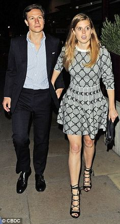 Party Princess Beatrice hits the town for TWO events in one night