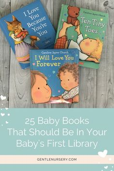 The best baby books for your baby's first year! A list of the best titles that should be in every baby's starter library. From newborn to age you'll love reading these with your baby. via Baby Books Baby Book To Read, Best Baby Book, Baby's First Books, Good Books, Children's Books, Mama Baby, Mom And Baby, Baby Boys, Baby Play