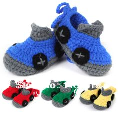 shoes crochet