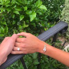 Des fleurs d'or et de diamants - Bracelet Chaumet de la collection Hortensia Astres d'or.