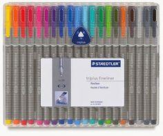 Staedtler Pens so I can color coordinate my planner and calendar Fineliner Pens, Life Planner, Happy Planner, Cute School Supplies, School Essentials, Planners, Planner Organization, College Organization, Dreams
